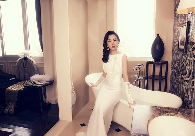 Người đẹp Phương Tiểu Bình khoe ảnh cưới đẹp lung linh ảnh 1