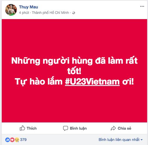 Dàn Hoa, Á hậu thốt lời yêu thương, tự hào về 'người hùng' U23 Việt Nam ảnh 5