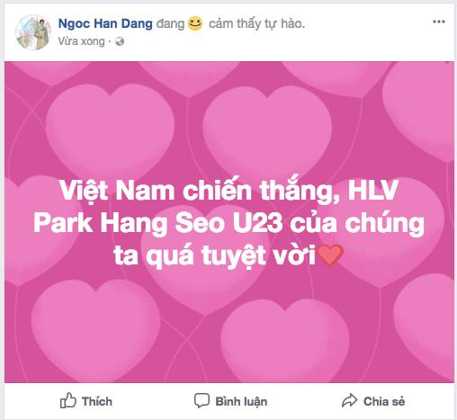 Dàn Hoa, Á hậu thốt lời yêu thương, tự hào về 'người hùng' U23 Việt Nam ảnh 6