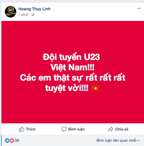 Dàn Hoa, Á hậu thốt lời yêu thương, tự hào về 'người hùng' U23 Việt Nam ảnh 11