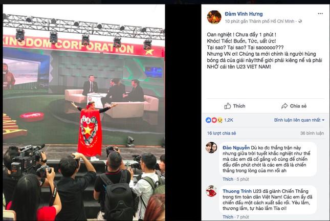 Dàn Hoa, Á hậu thốt lời yêu thương, tự hào về 'người hùng' U23 Việt Nam ảnh 10