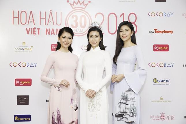 Dàn người đẹp khoe sắc tại buổi họp báo Hoa hậu Việt Nam 2018 ảnh 4