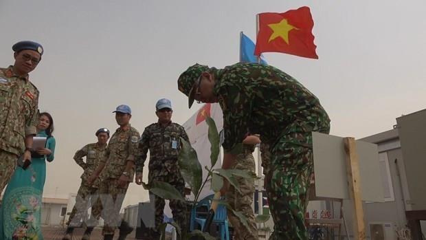Bệnh viện dã chiến cấp 2 tổ chức kỷ niệm ngày 27/2 tại Nam Sudan ảnh 1