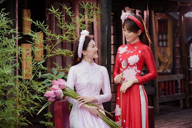Á hậu Phương Nga thân thiết với 'người tình màn ảnh' của bạn trai Bình An ảnh 2