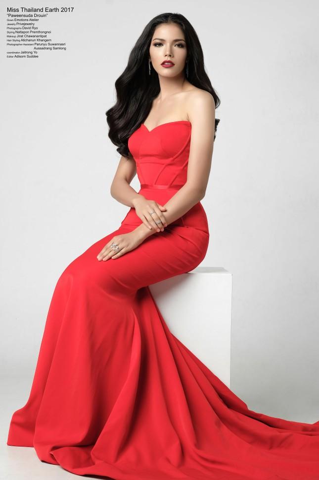 Thân hình nóng 'bỏng mắt' của tân Hoa hậu Hoàn vũ Thái Lan ảnh 6