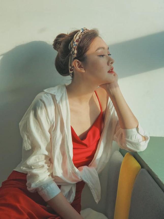 Gu thời trang sang chảnh 'vạn người mê' của Á hậu Miss World VN Nguyễn Tường San ảnh 7