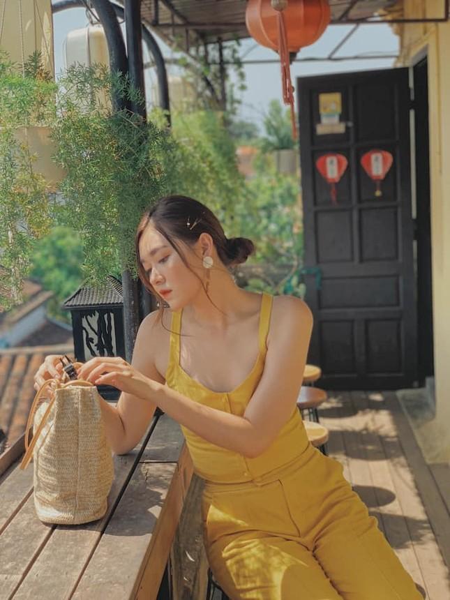 Gu thời trang sang chảnh 'vạn người mê' của Á hậu Miss World VN Nguyễn Tường San ảnh 4