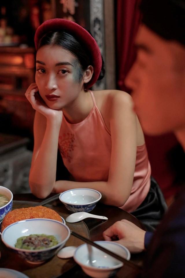 Mâu Thuỷ-Võ Hoàng Yến 'lên đồ' gợi cảm, 'đấu khẩu' trên ghế nóng Next Top ảnh 13