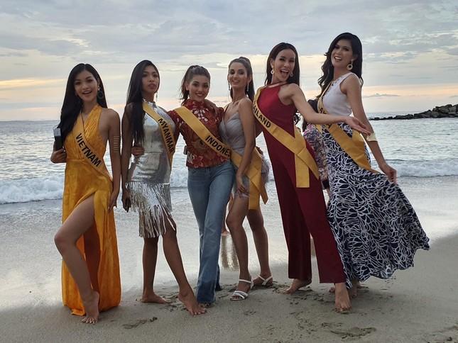 Á hậu Kiều Loan chễm chệ trên 21 bảng xếp hạng trước chung kết Miss Grand ảnh 2