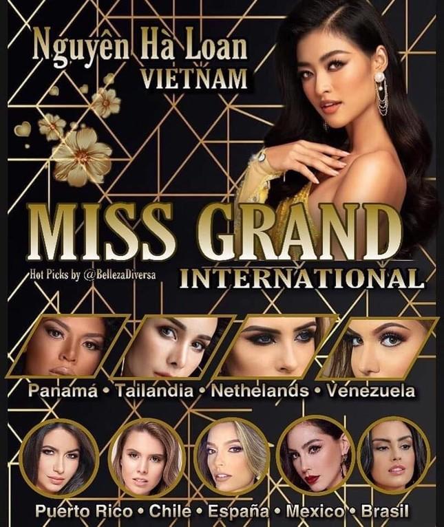 Á hậu Kiều Loan chễm chệ trên 21 bảng xếp hạng trước chung kết Miss Grand ảnh 6