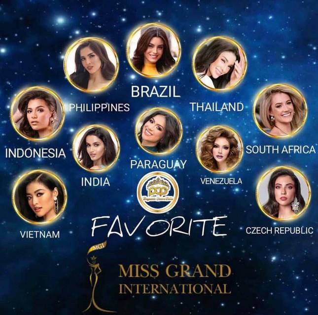 Á hậu Kiều Loan chễm chệ trên 21 bảng xếp hạng trước chung kết Miss Grand ảnh 12