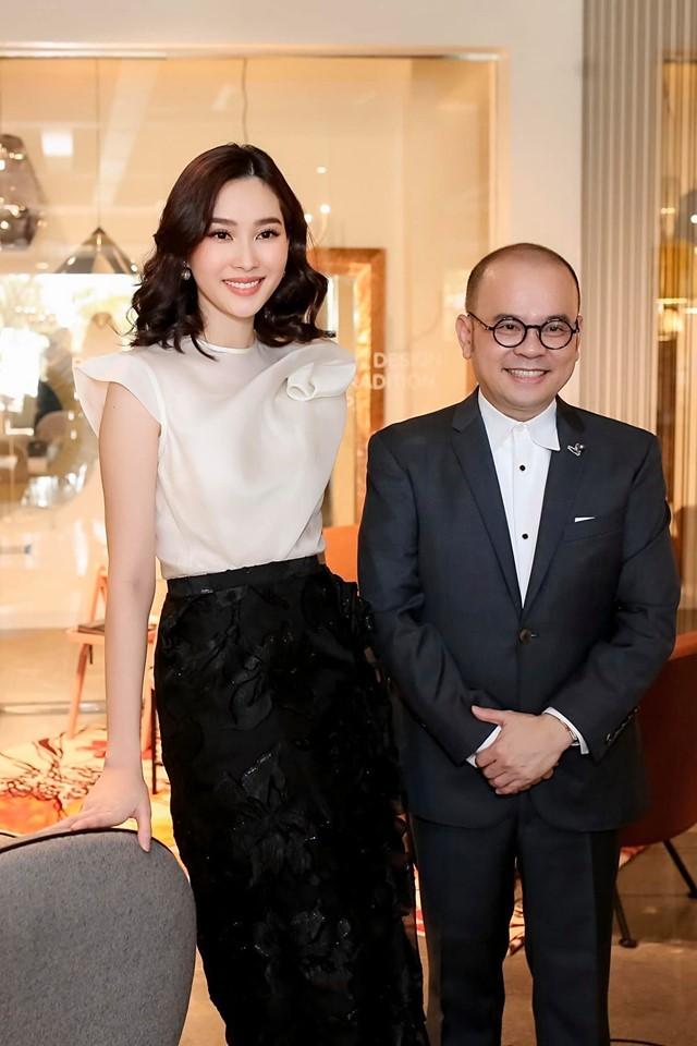 Á hậu Kiều Loan hé lộ trang phục dân tộc hoành tráng khiến fans 'phát sốt' ảnh 12