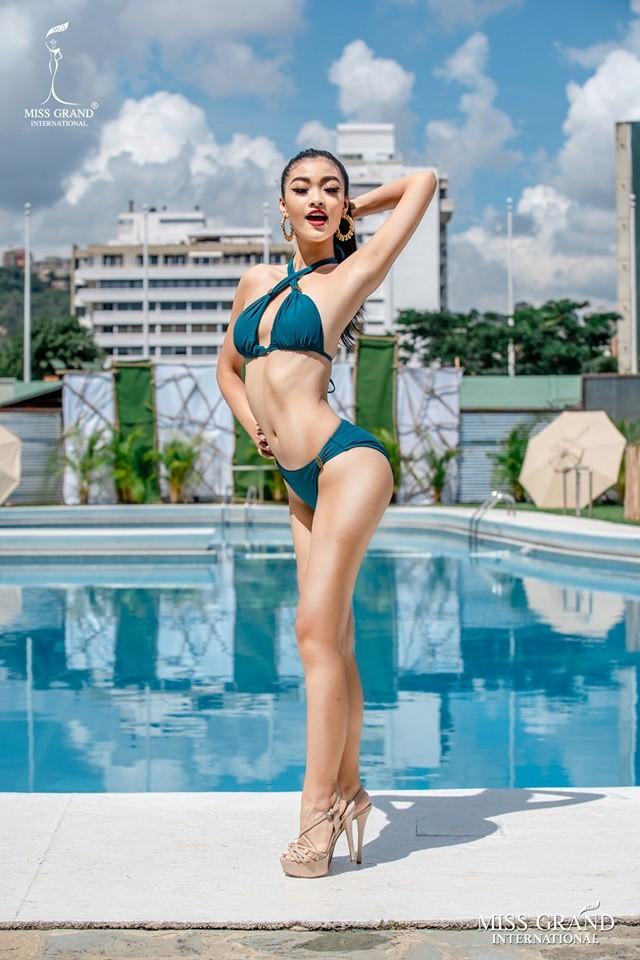 Kiều Loan lọt top 10 bình chọn áo tắm ở Miss Grand nhờ lượng vote 'khủng' ảnh 1