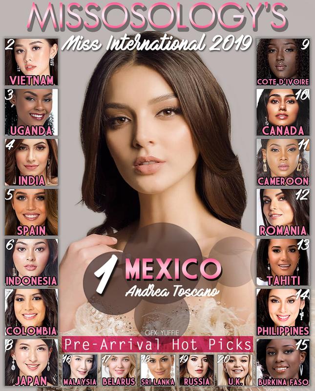 Sát ngày dự thi Miss International, Tường San được dự đoán đạt Á hậu ảnh 1