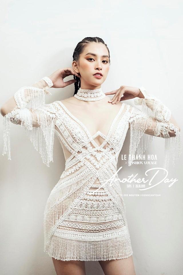 Tường San tự make-up đẹp tựa 'nữ thần' ở Hoa hậu quốc tế khiến fan thán phục ảnh 13