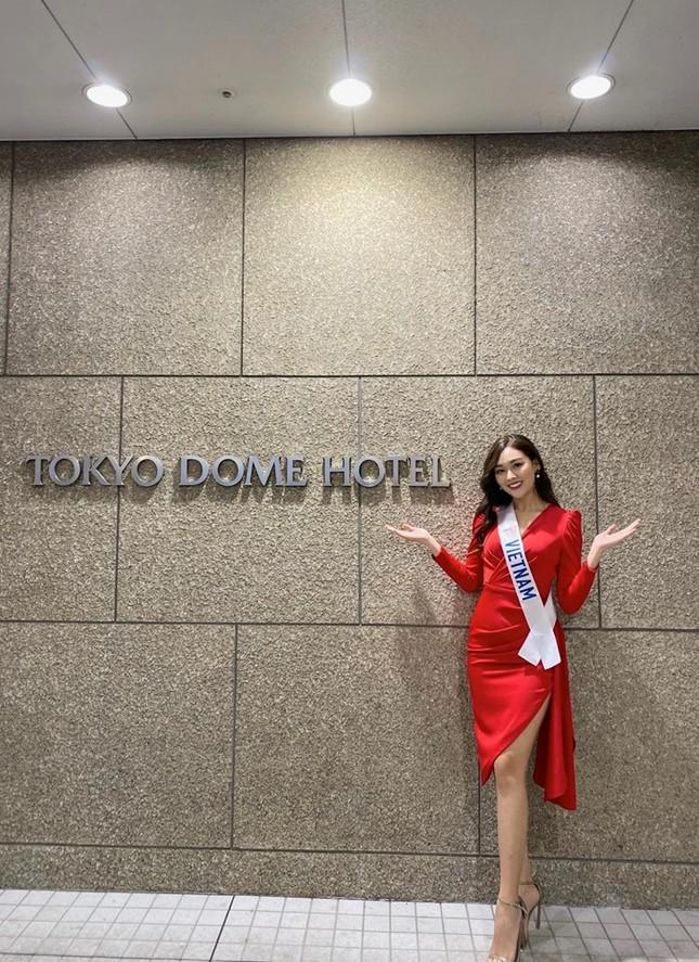 Tường San tự make-up đẹp tựa 'nữ thần' ở Hoa hậu quốc tế khiến fan thán phục ảnh 3
