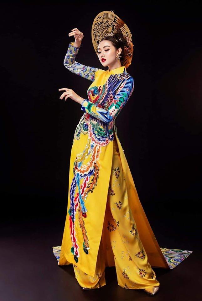 Tường San tự make-up đẹp tựa 'nữ thần' ở Hoa hậu quốc tế khiến fan thán phục ảnh 7