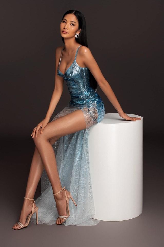 Tường San tự make-up đẹp tựa 'nữ thần' ở Hoa hậu quốc tế khiến fan thán phục ảnh 8
