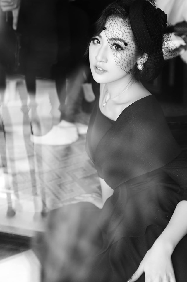 Tường San tự make-up đẹp tựa 'nữ thần' ở Hoa hậu quốc tế khiến fan thán phục ảnh 16