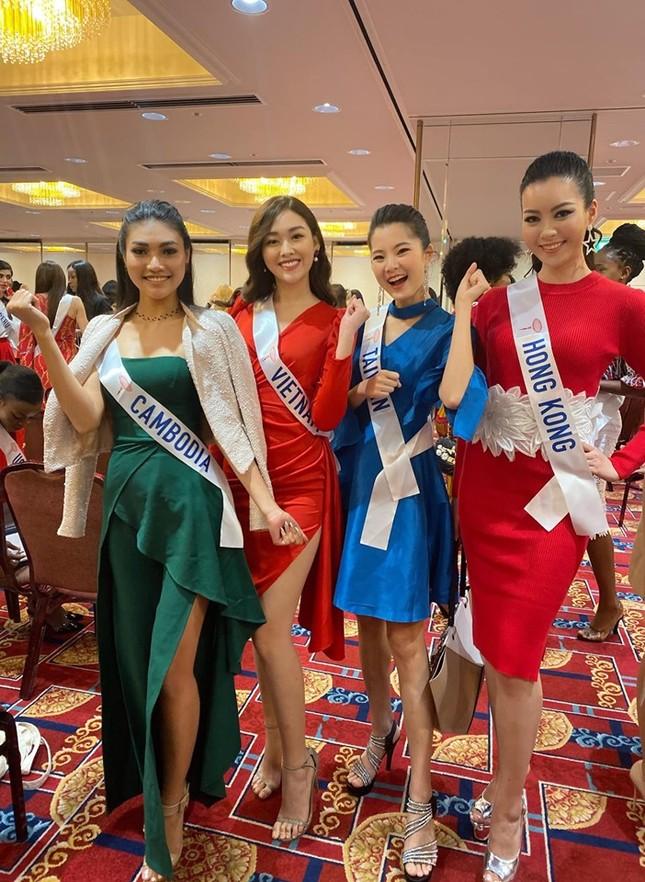 Tường San tự make-up đẹp tựa 'nữ thần' ở Hoa hậu quốc tế khiến fan thán phục ảnh 4