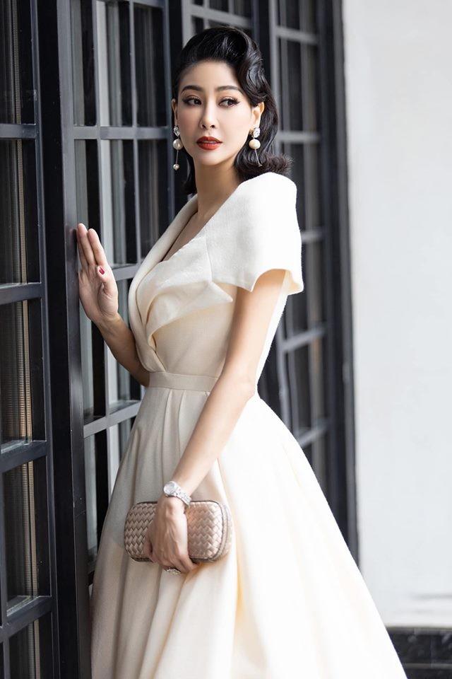 Tường San tự make-up đẹp tựa 'nữ thần' ở Hoa hậu quốc tế khiến fan thán phục ảnh 17