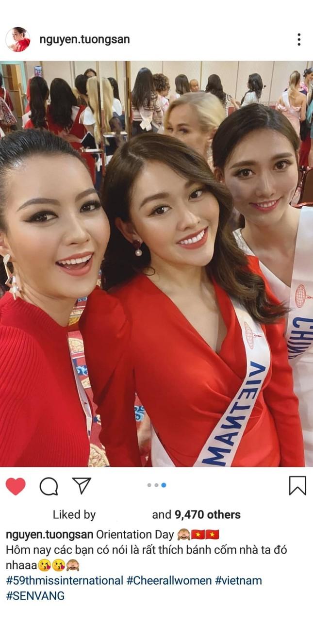 Tường San trình diễn quốc phục đính rồng dài 3m ở Hoa hậu quốc tế ảnh 9