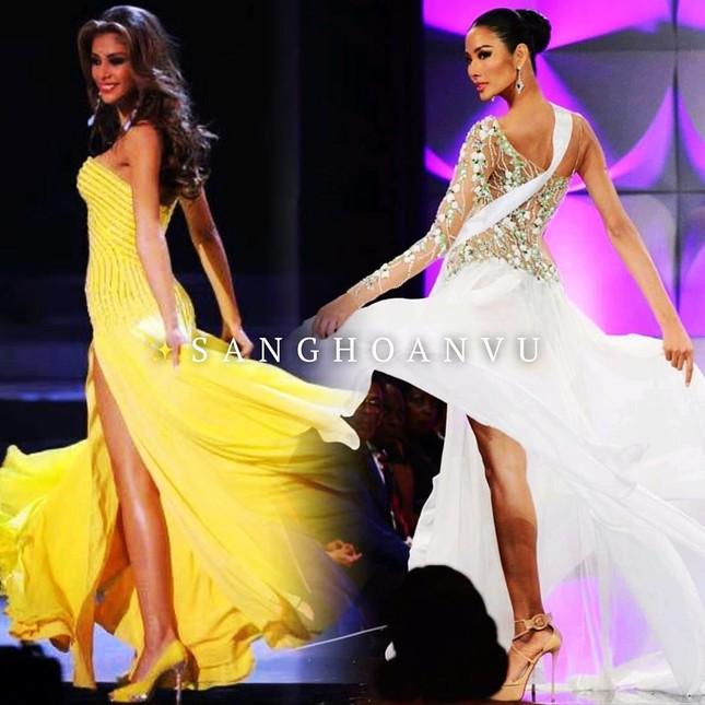 Hoàng Thuỳ 'gây bão' bán kết Miss Universe với kỹ năng 'bamboo walk' điêu luyện ảnh 1