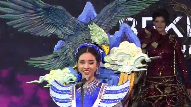 Á hậu Thuý An lần đầu chia sẻ sau đêm chung kết Hoa hậu Liên lục địa 2019 ảnh 2