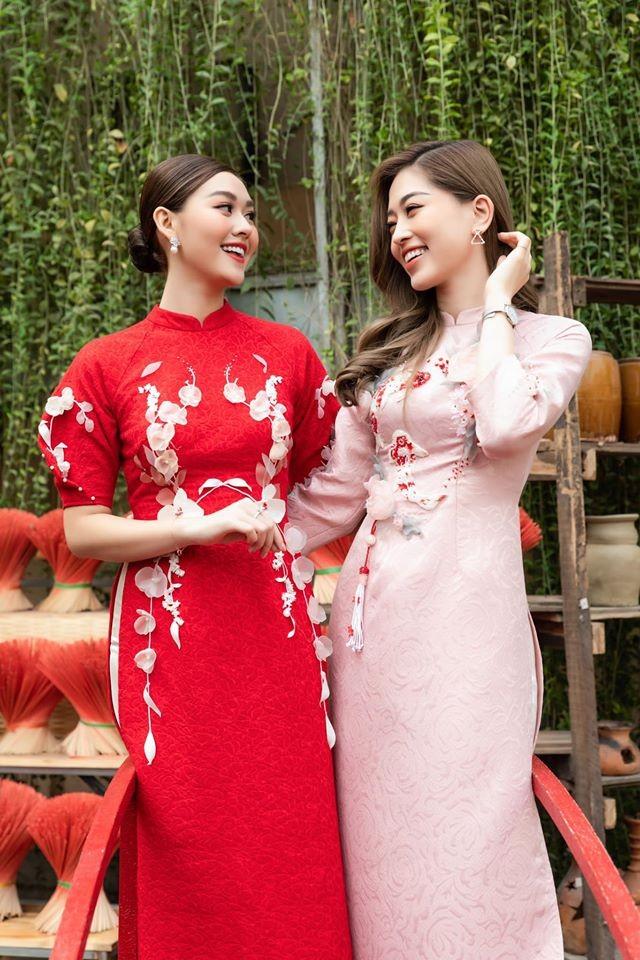 Dàn Hoa hậu, Á hậu tất bật trang hoàng nhà cửa để đón Tết ảnh 5