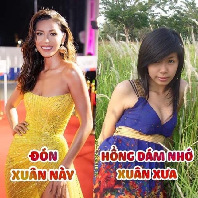 Hoa hậu Ngọc Hân khoe ảnh ăn tất niên cùng cầu thủ Tiến Linh khiến fan 'ghen tỵ' ảnh 8