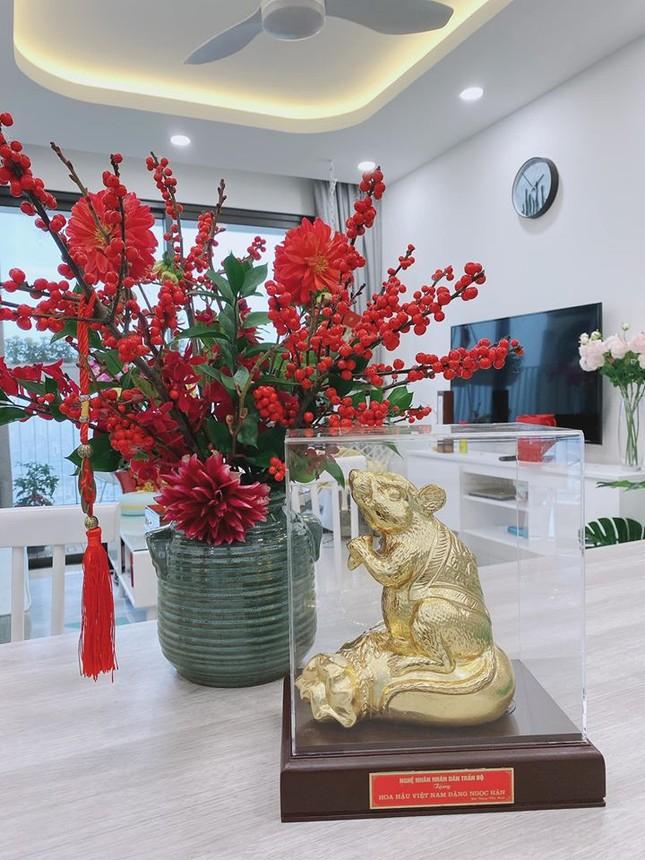Dàn Hoa, Á hậu khoe nhà đẹp trang hoàng lộng lẫy chuẩn bị đón Giao thừa ảnh 6