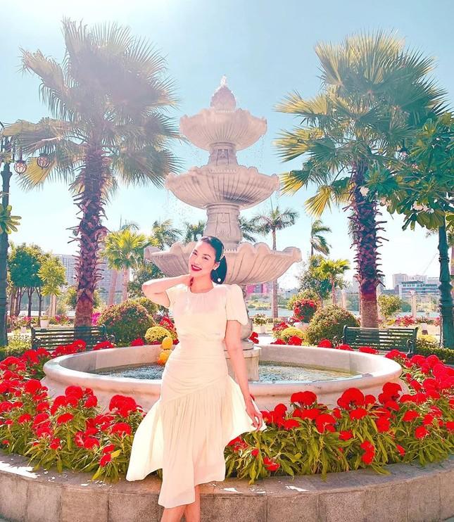 Á hậu Huyền My mặc bikini nóng bỏng ở Thái Lan ảnh 3