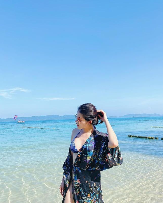 Á hậu Huyền My mặc bikini nóng bỏng ở Thái Lan ảnh 2