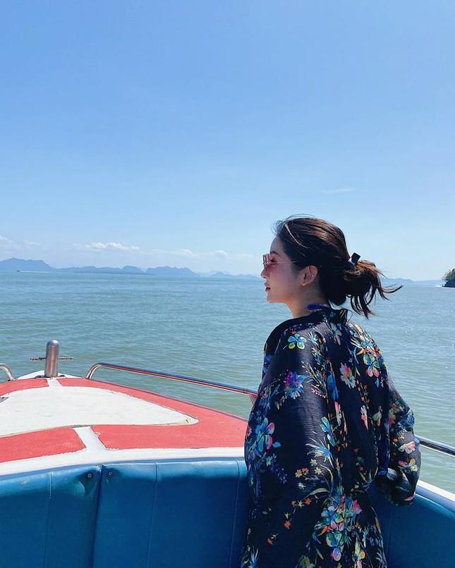 Á hậu Huyền My mặc bikini nóng bỏng ở Thái Lan ảnh 1