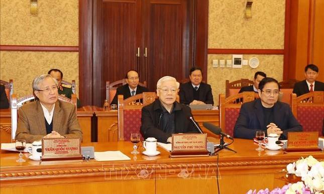 Tổng Bí thư, Chủ tịch nước chủ trì họp Ban Bí thư ảnh 1