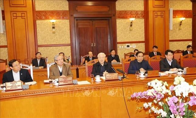 Tổng Bí thư, Chủ tịch nước chủ trì họp Ban Bí thư ảnh 2