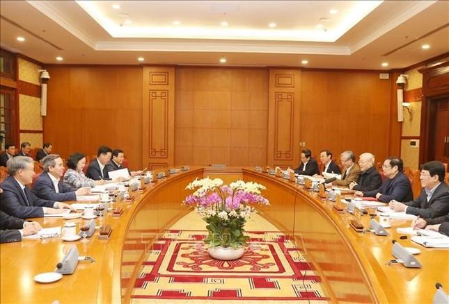Tổng Bí thư, Chủ tịch nước chủ trì họp Ban Bí thư ảnh 3