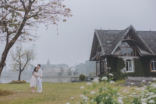 Duy Mạnh - Quỳnh Anh tung ảnh cưới lãng mạn ngay trước đám cưới ảnh 7