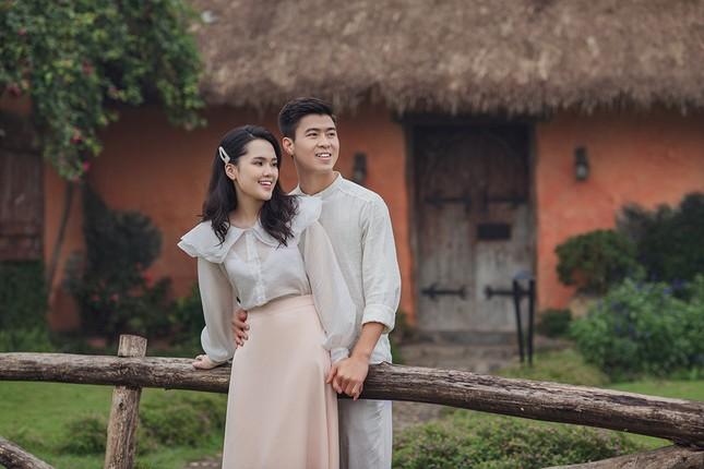 Duy Mạnh - Quỳnh Anh tung ảnh cưới lãng mạn ngay trước đám cưới ảnh 4