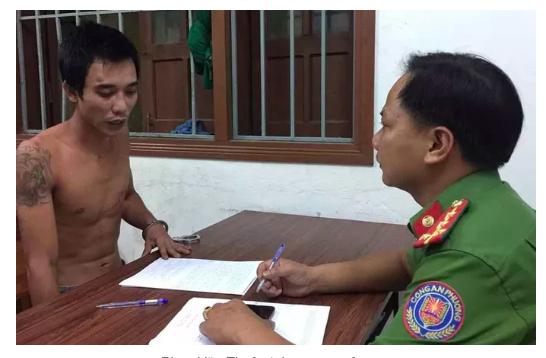 2 công an ở Đà Nẵng bị nhóm thanh niên chém nhập viện ảnh 1