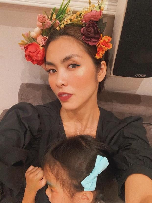 Tăng Thanh Hà hiếm hoi khoe ảnh cận mặt con gái đáng yêu khiến fans thích thú ảnh 2