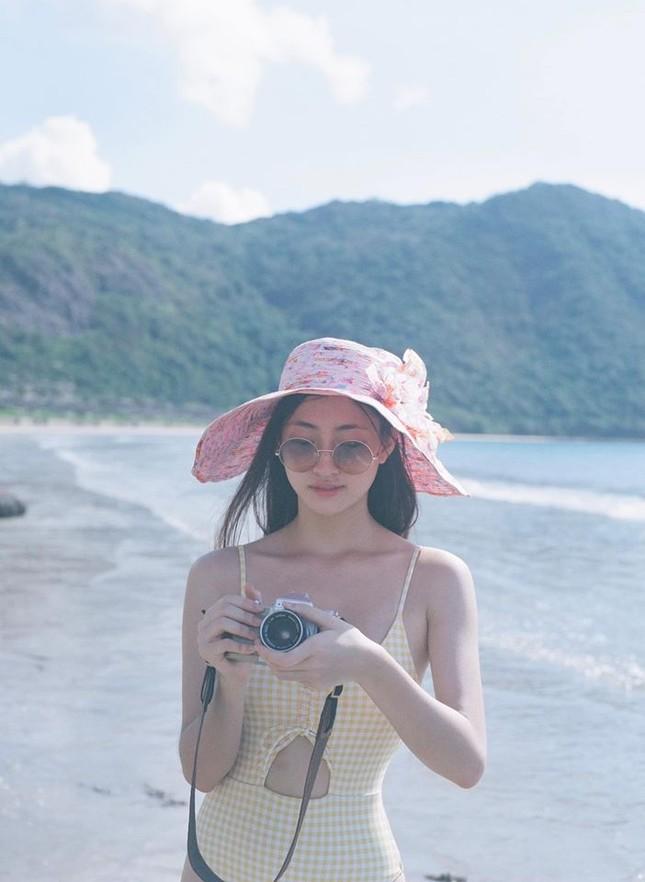 Béo tròn sau thời gian cách ly, vậy mà giờ Lương Thuỳ Linh đã tự tin mặc bikini đầy sexy ảnh 3
