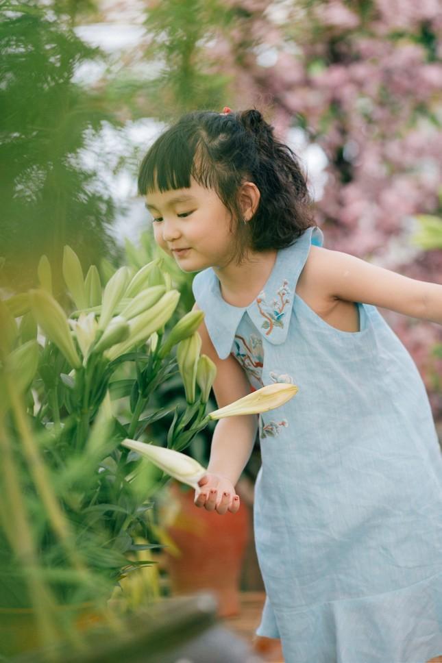 Ngọc Hân hé lộ ông xã tương lai mong có con gái đáng yêu như bé Cherry nhà Hồng Quế ảnh 7