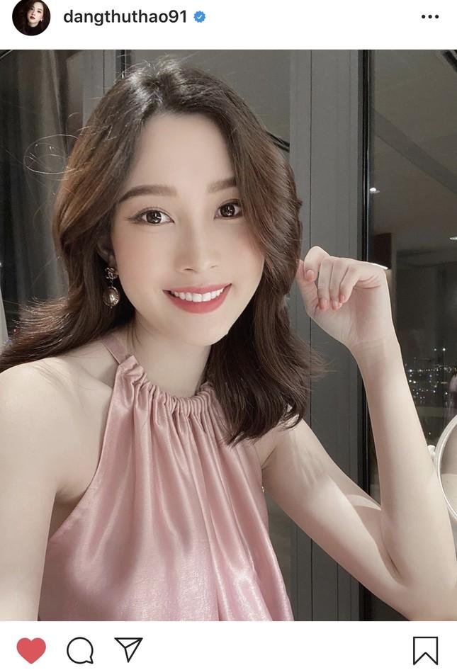 Nhan sắc vẫn xinh đẹp 'không tì vết' của Hoa hậu Thu Thảo khi bầu bí lần 2 ảnh 8