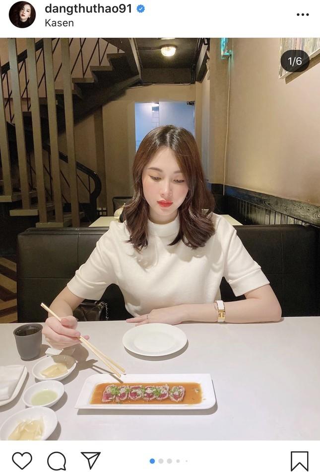 Nhan sắc vẫn xinh đẹp 'không tì vết' của Hoa hậu Thu Thảo khi bầu bí lần 2 ảnh 9