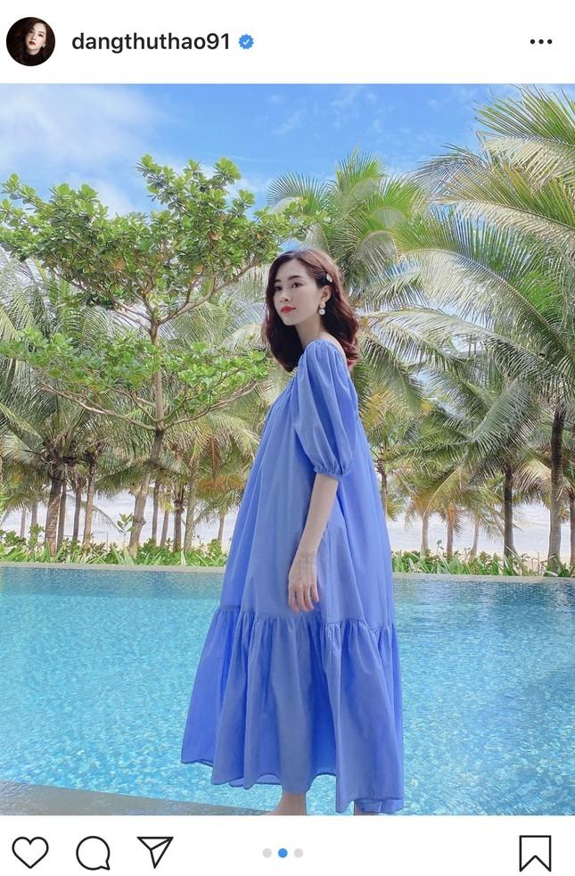 Nhan sắc vẫn xinh đẹp 'không tì vết' của Hoa hậu Thu Thảo khi bầu bí lần 2 ảnh 11