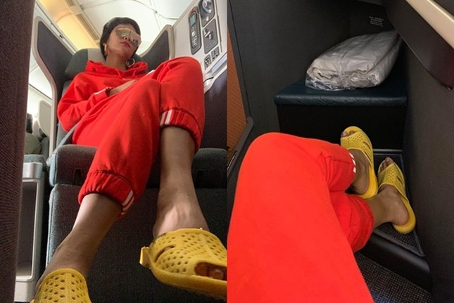 Hoa hậu H'Hen Niê gây thích thú với thời trang chống nắng kín mít từ đầu đến chân ảnh 3