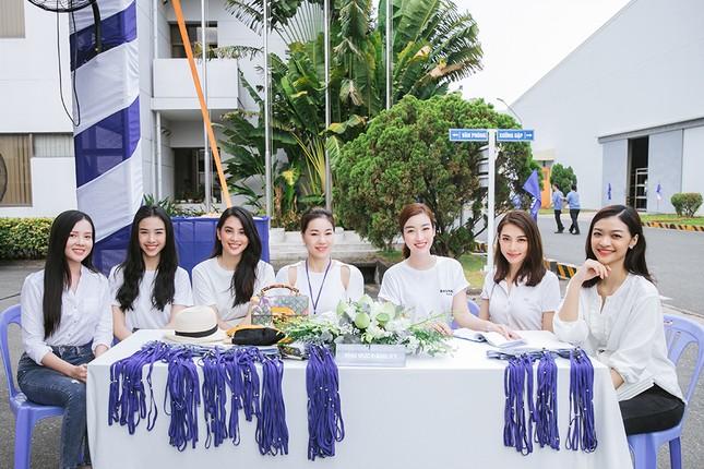 Dàn Hoa - Á hậu khoe sắc tinh khôi với áo trắng, tham gia hiến máu nhân đạo ảnh 3