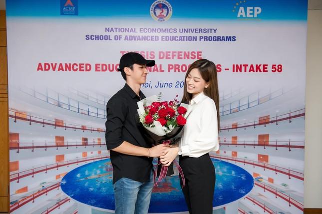 Đạt điểm tốt nghiệp cao ngất, á hậu Phương Nga bật mí dự định và sẽ cưới Bình An? ảnh 3