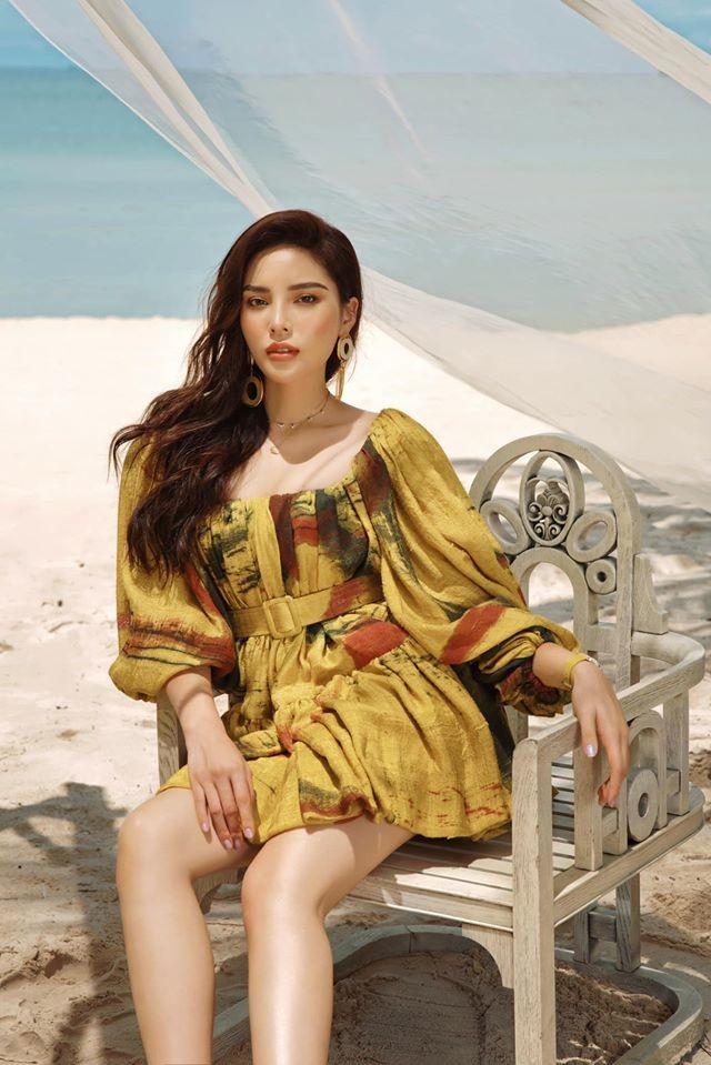 Hoa hậu Mỹ Linh liên tục tung ảnh bikini, khoe đường cong 'gây mê' ảnh 6